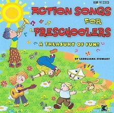 NEW Action Songs For Preschoolers (Audio CD)