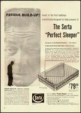 1960 vintage ad, SERTA Perfect Sleeper Mattress, $79.50  (030713)