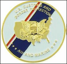 CBP Office of Air and Marine Operations Flag Challenge Coin