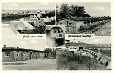 AK Nordseebad Schillig 1963 Unterkünfte Zelte Baracken / Horumersiel St. Joost