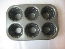 Nordic Ware ICE CREAM CONE CUPCAKE PAN/TIN USA 6 CUPCAKES