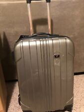"""GM CORVETTE HARDSHELL Spinner Upright Suitcase 22"""" New With Tags AWESOME NWT"""