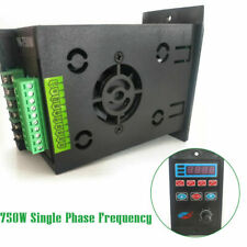 Ac220v Single Phase Variable Frequency Drive Converter 3 Phase Output 750w Vfd