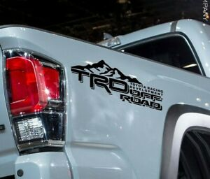 Truck Decals For Toyota Tacoma Tundra TRD Stickers Vinyl off road graphics Sport