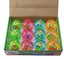 12 Super Size Light Up LED Flashing Duck Bouncy Balls For Kids Party US Seller