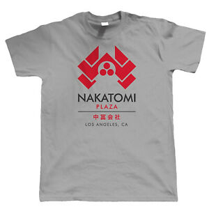 Nakatomi Plaza Mens T Shirt - Gift for Him Dad Action Movie Inspired
