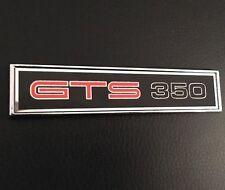 HQ GTS 350 BLACK MONARO DIE CAST CONSOLE BADGE CUSTOM CAR INTERIOR GIFT IDEA!