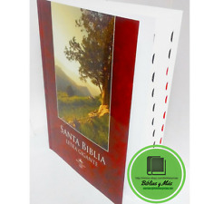 Biblia Letra Super Gigante index 18 Puntos *COMBO CON FORRO COLOR CAFE*