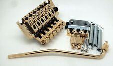 10X Floyd Rose Gold Lic Tremolo Bridge Double Locking System for Electric Guitar