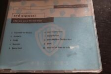 ROD STEWART WHEN WE WERE THE NEW BOYS PROMOTIONAL ONLY COPY WARNER BROTHERS