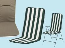Cuscino Cuscini action schienale AltoBianco/Verde sedia giardino giardini