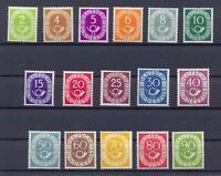 Bund 123-38 Posthornsatz postfrisch tiefst geprüft HD Schlegel (vs280)