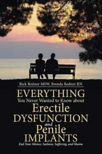 Everything You Never Wanted to Know about Erectile Dysfunction and Penile Implan