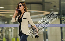 New Fashion Womens Coat Slim Ladies Blazer One Button Jacket Suit White Black