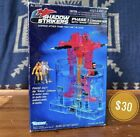 1990 Vintage Kenner Shadow Strikers Phase I Converter + Ghost Johnson, M.A.S.K