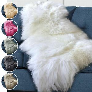 Thick Large Dense Pile Faux Fur Washable Large Floor Carpet Sheepskin Rugs
