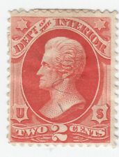 Scott #O16 - 2c Vermillion - Official Stamps -Mint, Hinged- Scv - $70.00