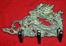 Awesome Dragon Hook Brass Towel Hanger Antique Style Room Kitchen Decor WG24