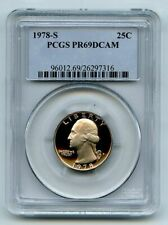 1978 S 25C Washington Quarter Proof PCGS PR69DCAM