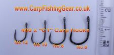 400 x Barbless Short Shank Carp Hooks (Assorted 100 x No.6, No.8, No.10 & No.12)