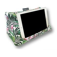 Coz-e-Reader Tablet Stand Pillow Tropical Fern iPad Cushion Wipe Clean Gift