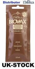 L'biotica BIOVAX NATURALS oli di Argan, Macadamia, Cocco-CAPELLI MASCHERA x 20ml