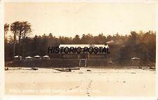 CANNON BEACH ECOLA OREGON~WARREN HOTEL~1910s REAL PHOTO POSTCARD