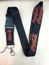 Coca Cola  Lanyard Key Chain Holder  Black   Automobile  FREE SHIPPING / USA