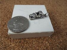 STERLING SILVER CHARM OLD FASHIONED CAR