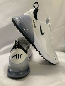 Nike Golf Air Max 270 G Tour Shoes CK6482 102 White Black Pure Platinum Sz 11