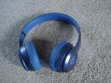 Very Nice Beats by Dr. Dre Solo 2 Solo2 Wired Headband Headphones -Sapphire Blue