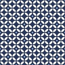 BABY BOUTIQUE DIAMOND GEO Navy Blue 100% cotton fabric by the yard