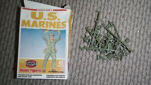 World War 2 U.S. Marines Airfix Miniatures incomplete