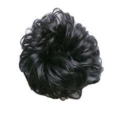 Women Ladies Pony Tail Hair Extension Bun Hairpiece Scrunchie Chignon New