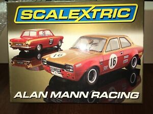 Scalextric Alan Mann Racing C2981A Set New Pristine Condition Limited Edition!