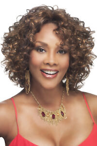 CHILLI-V - VIVICA A FOX SYNTHETIC FUTURA DEEP LACE FRONT WIG LOOSE SPIRAL CURL