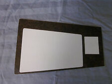 1970-71 camaro console wood grain trim for models with 4 speed standard trans