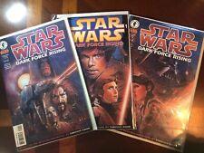 STAR WARS: DARK FORCE RISING #1 2 3 (Half Run 1-3) Dark Horse Comics 1997 VF