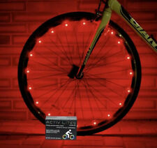 LED Bike Wheel Lights with Batteries Included! Get 100% Brighter