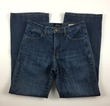 NYDJ Petite Relaxed Fit Tummy Tuck Not Your Daughter's Jeans Dark Rinse Size 2P
