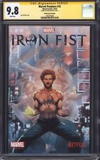 MARVEL PREMIERE #15 (NYCC Netflix Variant) CGC 9.8 SS / Signed by Finn Jones!