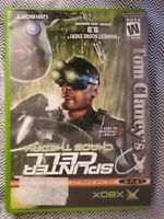 Tom Clancy's Splinter Cell: Chaos Theory Microsoft Xbox COMPLETE