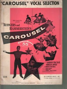 Carousel Vocal Selections 1945 Sheet Music