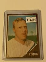 🔥 1962 TOPPS Baseball Card Set #213 🔥NEW YORK METS 🔥 HOF RICHIE ASHBURN