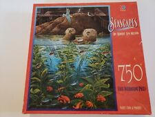 SEASCAPES 750 PIECE JIGSAW PUZZLE NEW MB ROBERT LYN NELSON GAMES TOYS