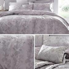 Purple Duvet Covers Lilac Floral Jacquard Quilt Sets Luxury Bedding Collection