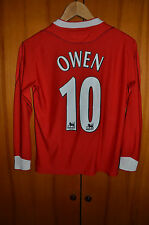 LIVERPOOL ENGLAND 2002/2003 KIDS FOOTBALL SHIRT JERSEY REEBOK LONG SLEEVE OWEN