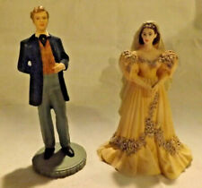 "Franklin Mint Figurines Gone With The Wind ""Mr. & Mrs. Charles Hamilton"""