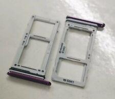 Original Samsung Galaxy S9+ DUOS Sim SD Karten Halter Slot Adapter Tray Lila