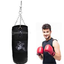 70cm Empty Punching Bag Boxing Sandbag Training Kickboxing Equipment Set